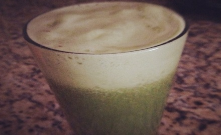 kale, carrot ginger, apple juice_feat